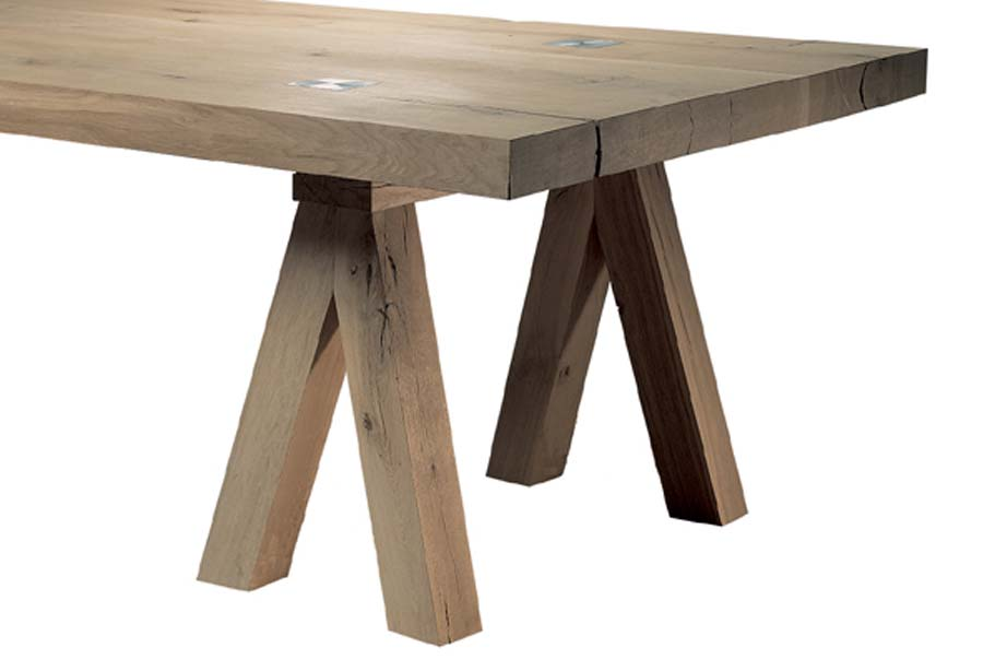 David Salmon Mighty Solid Oak Dining Tables